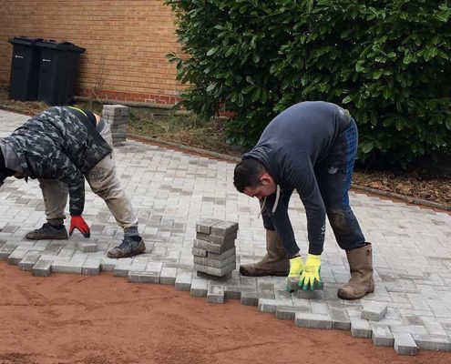 Block paved driveway services in Walsall