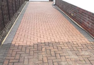 Driveway and patio cleaning in Cannock
