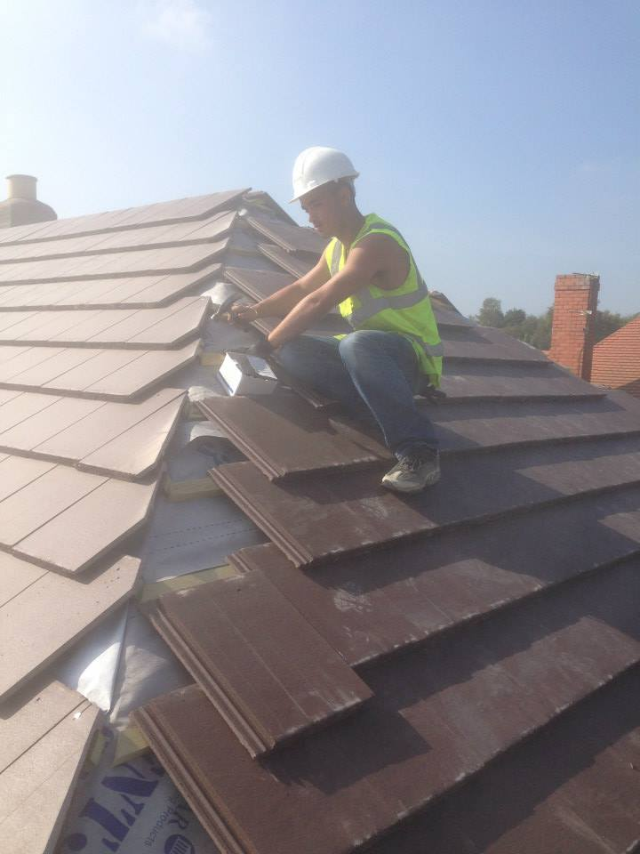 Roofing services in Walsall and Aldridge