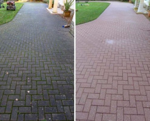 Patio and driveway cleaning services in Walsall, West Midlands