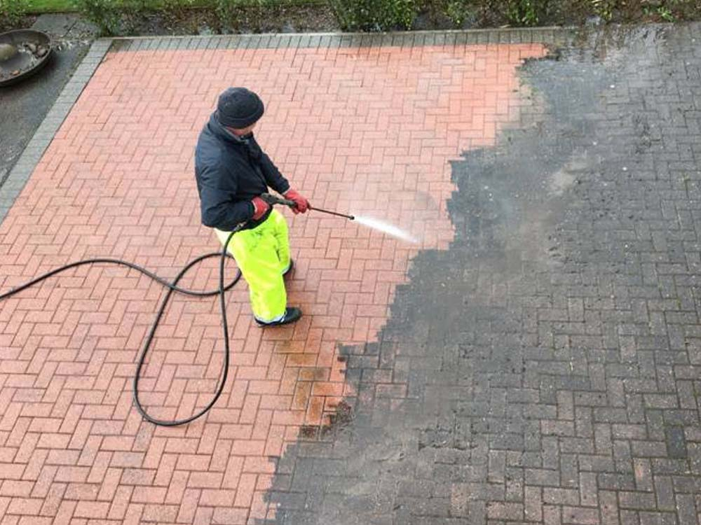 Patio and Driveway cleaning services company in Walsall, Aldridge, Cannock and more