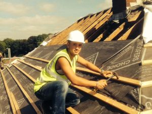 Roofing service in Walsall including flat roofing repairs