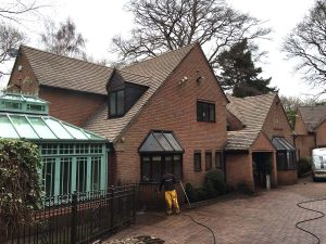 Driveway cleaning services in Aldridge and Walsall borough