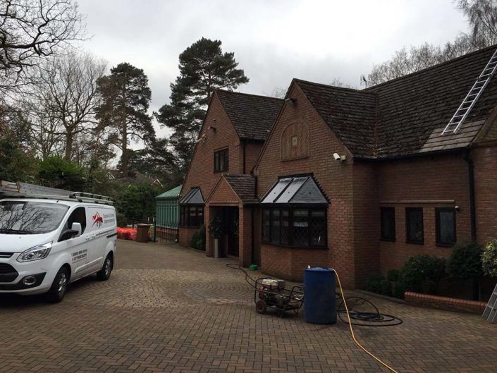 Driveway and patio cleaning services in Sutton Coldfield and Walsall