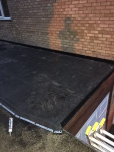 Flat roofing services in Walsall and Cannock
