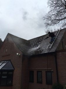 Roofing cleaning services in Walsall and surrounding areas