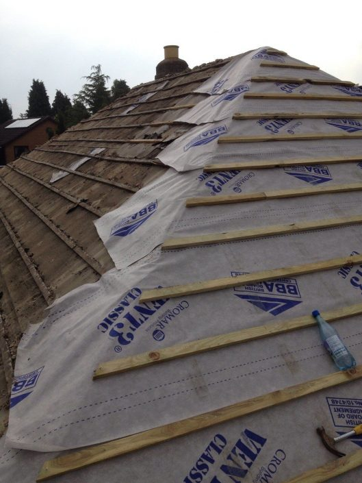 Roofing services in Wednesfield by FJF
